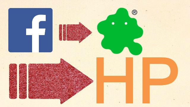 フェイスブック→ブログ→ホームページ