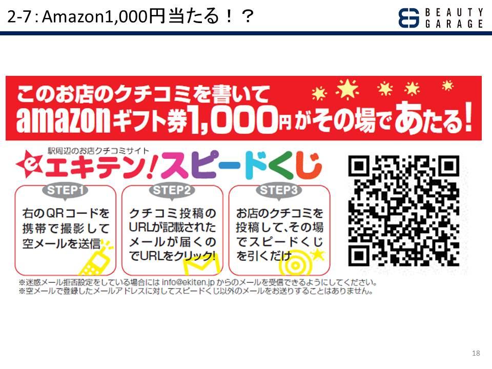 2-7:Amazon1,000円当たる!?