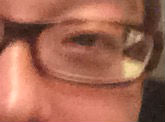 白メガネじゃない