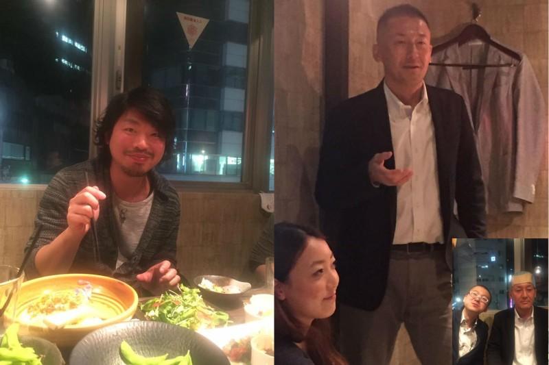 大河内隆広・田中優勝さん
