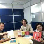 2018年8月7日(火)株式会社髪書房 取締役 森井様をお招きして自力集客力UPセミナー開催